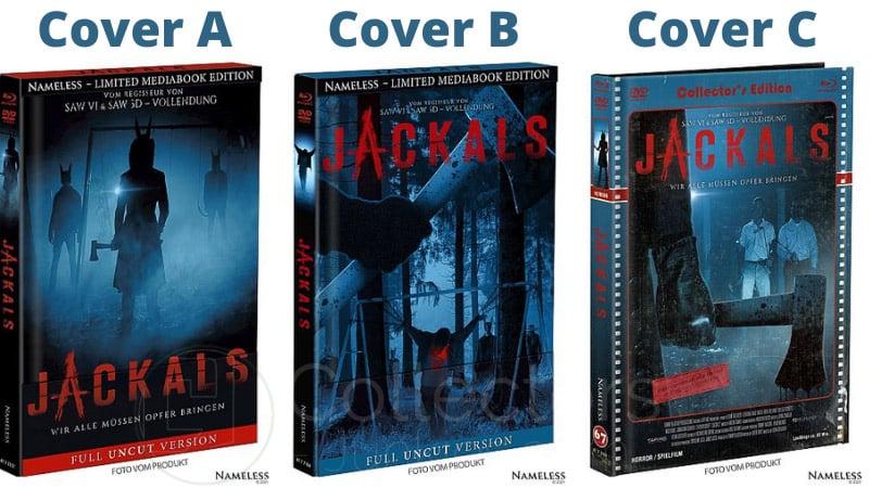 """Jackals"" ab März 2021 in 3 Blu-ray Mediabooks"