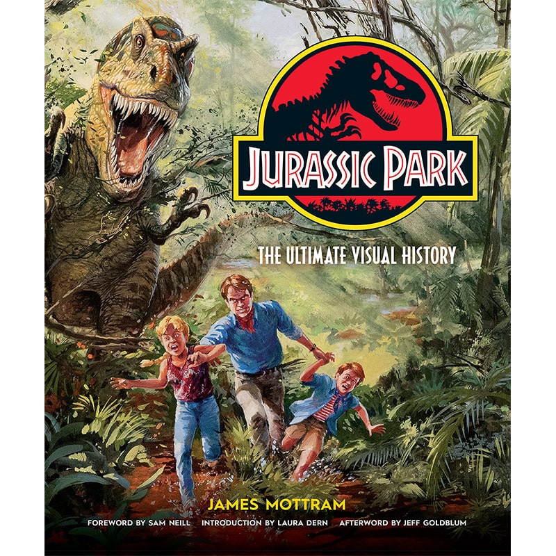 """Jurassic Park: The Ultimate Visual History"" ab Oktober in der Hardcover Ausgabe – Update"