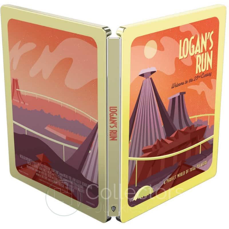 """Logan's Run – Flucht ins 23. Jahrhundert"" ab Mai 2021 im Blu-ray Steelbook (Sci-fi Destination Series #3)"