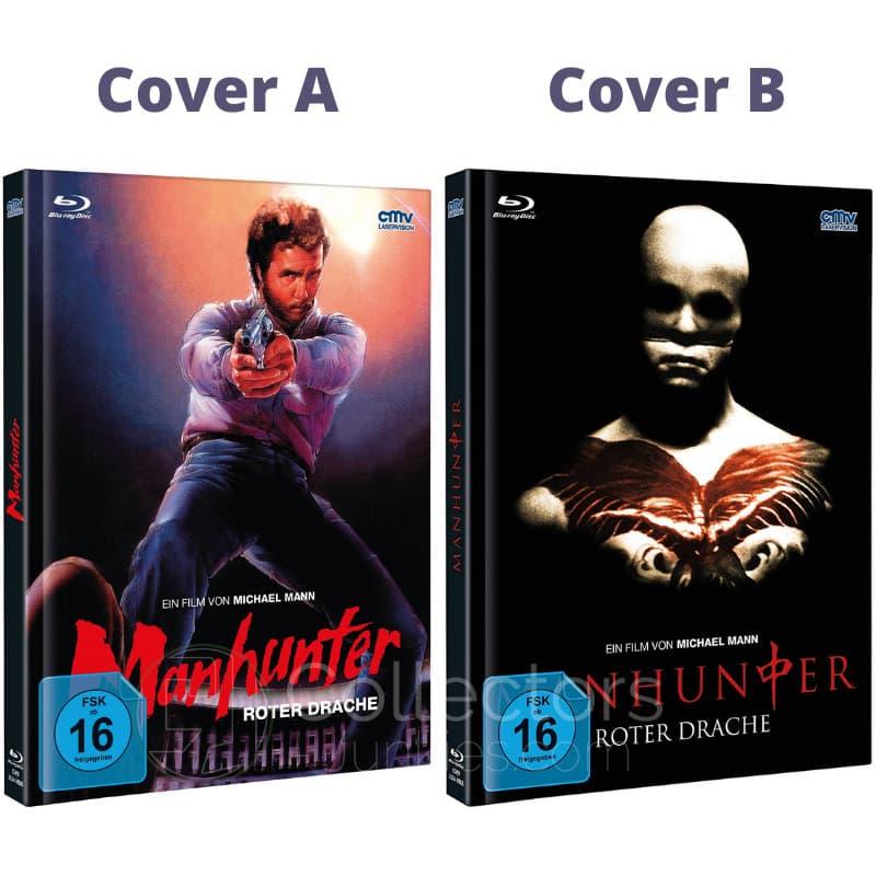 """Manhunter – Roter Drache"" ab April 2021 in 2 Blu-ray Mediabooks"