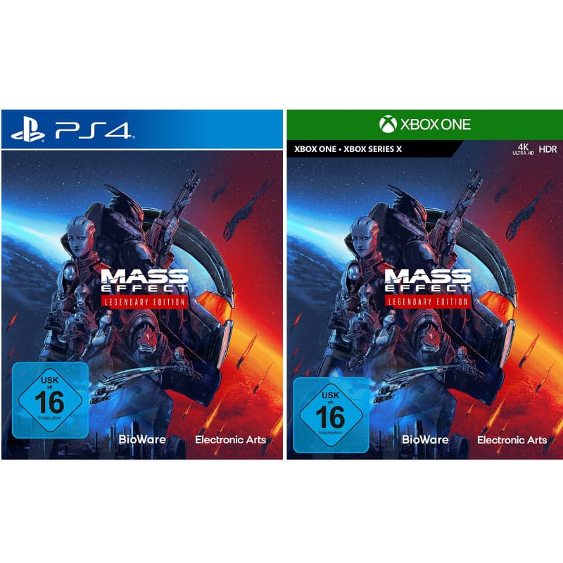 """Mass Effect Legendary Edition"" ab Mai 2021 für Playstation 4, Xbox One und PC"