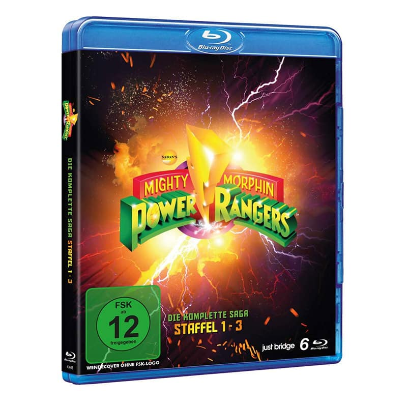 """Mighty Morphin Power Rangers"" Die Komplette Serie  ab März 2021 als Standard Variante (SD on Blu-ray)"