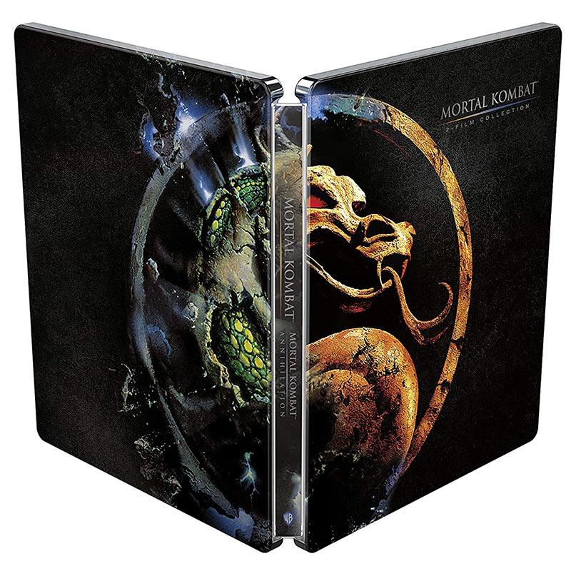 """""""Mortal Kombat + Mortal Kombat – Annihilation"""" ab Mai 2021 im Blu-ray Steelbook"""