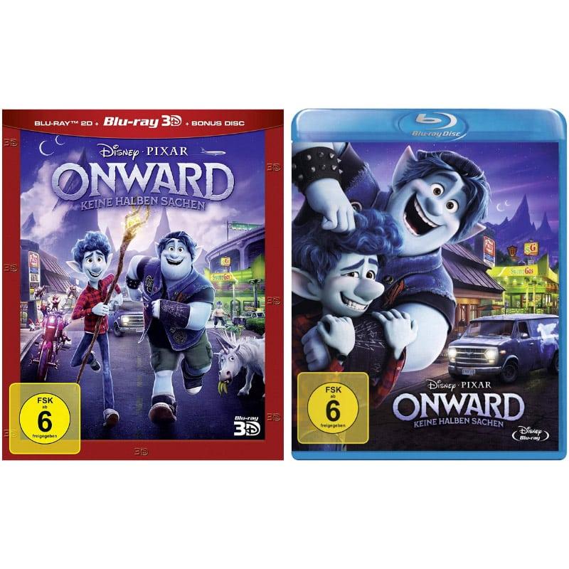 Onward – Keine halben Sachen auf Blu-ray für 9,99€ und auf 3D Blu-ray (inkl. 2D) für 14,99€