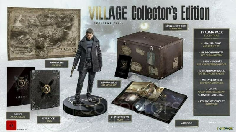 Resident Evil 8 Village – Collectors Edition, Steelbook und weitere Varianten (Playstation 5/4, Xbox Series X/ One, PC)