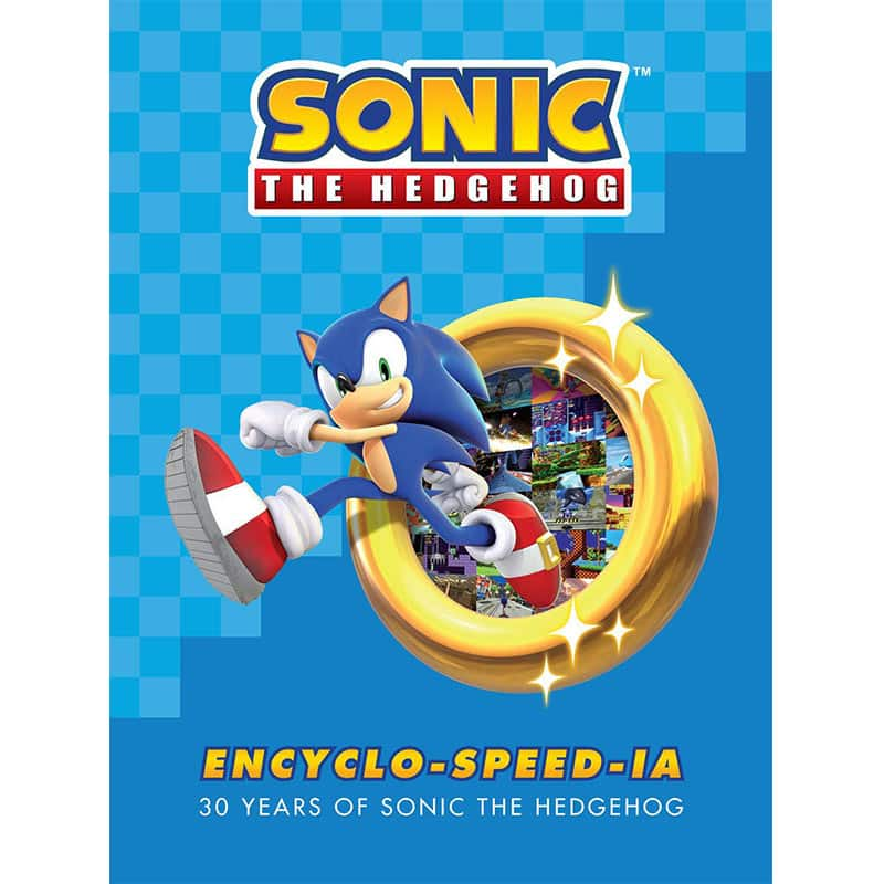 """Sonic the Hedgehog Encyclo-speed-ia"" ab September 2021 in der gebundenen Ausgabe"