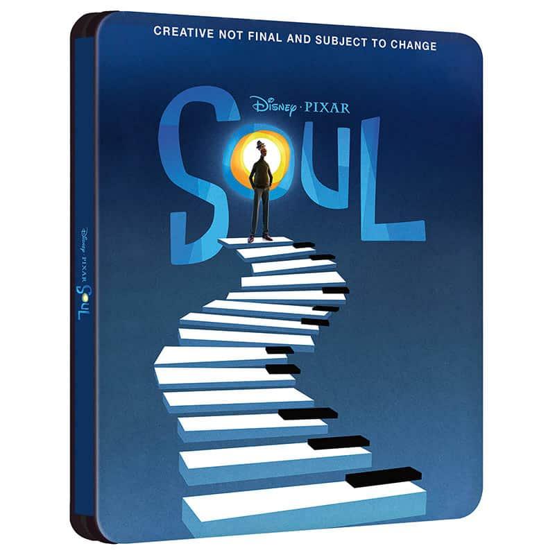 """""""Soul"""" ab März 2021 im Zavvi exklusiven 4K Steelbook (England)   Blu-ray Steelbook in Spanien"""