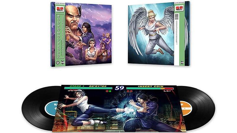 Tekken 2 Soundtrack remastered auf Vinyl für 31,24€