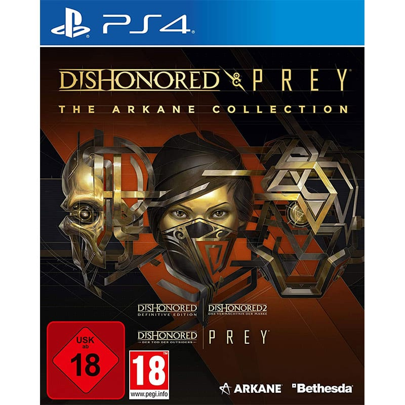 The Arkane Collection: Dishonored & Prey (PlayStation 4) für 17,39€