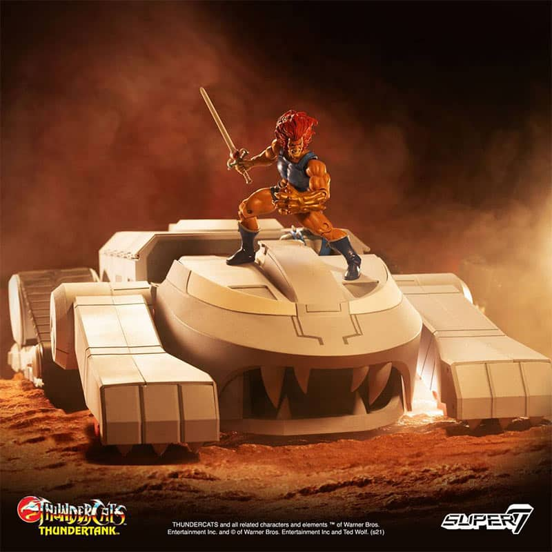 """Thundercats """"ThunderTank"""" Fahrzeug von Super7"""