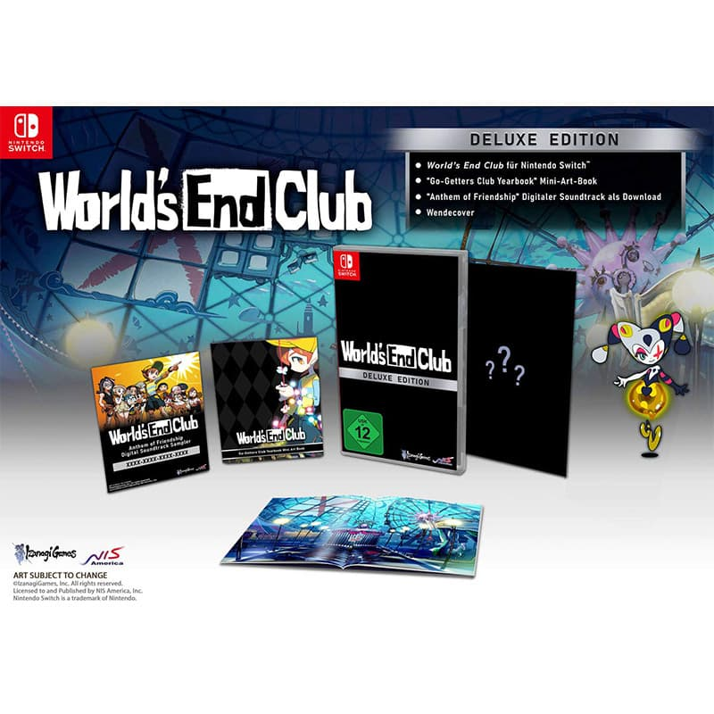 """""""World's End Club"""" – ab Mai 2021 in einer Deluxe Edition für die Nintendo Switch"""