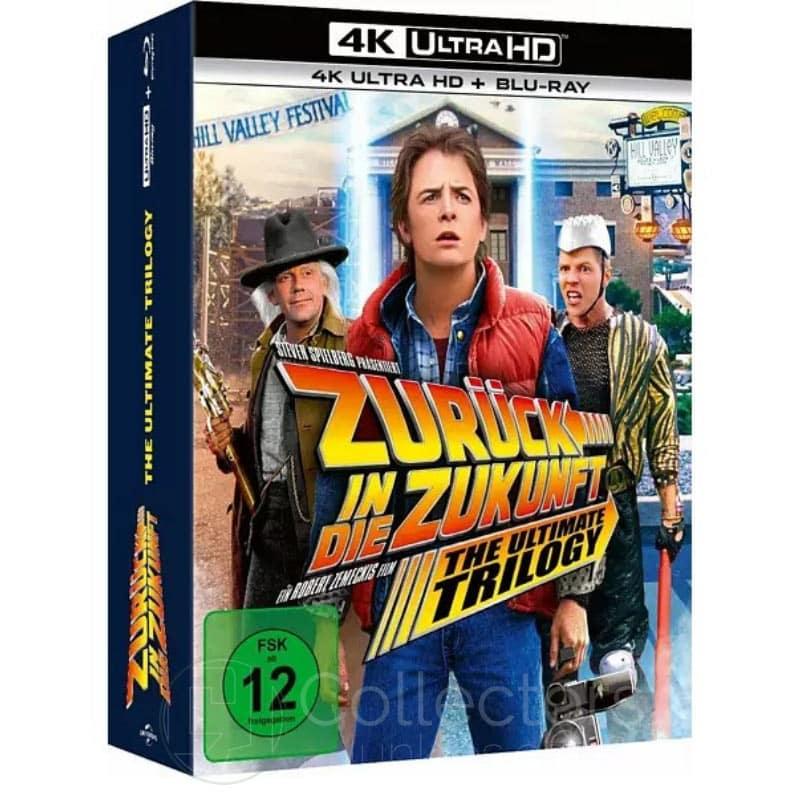 Zurück in die Zukunft Trilogie (4K UHD + Blu-ray) für 30,79€