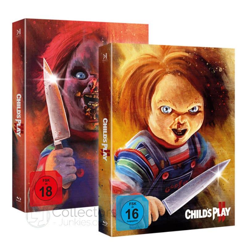 """""""Chucky 2 & 3"""" erscheinen 2021 jeweils in der Piece of Art Box"""
