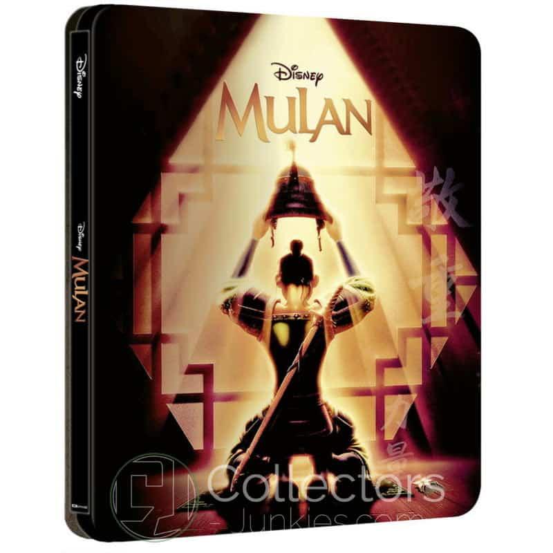 """""""Mulan (1998)"""" erscheint im Zavvi exklusiven 4K Steelbook (England)"""