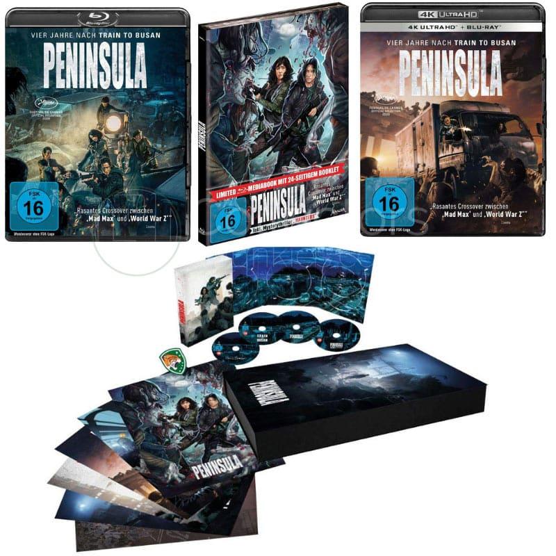 """""""Peninsula"""" ab Februar 2021 in einer Deluxe Edition und im Mediabook"""