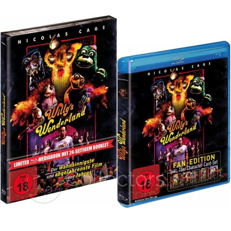 """""""Willy's Wonderland"""" ab Mai 2021 im Blu-ray Mediabook, als Special Edition und Standard Variante"""