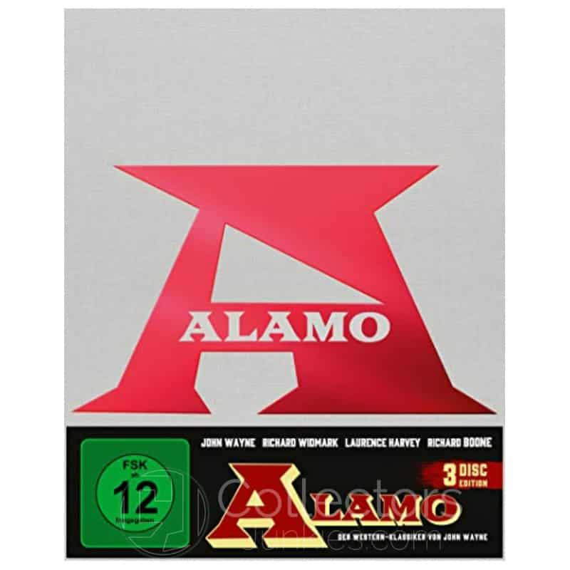 """Alamo (1960)"" ab Mai 2021 im Amazon exklusiven Blu-ray Mediabook (Cover A)"