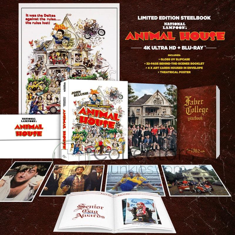 """""""Animal House"""" erscheint in einer Limited Edition inkl. 4K Steelbook (England)   ab Mai 2021"""