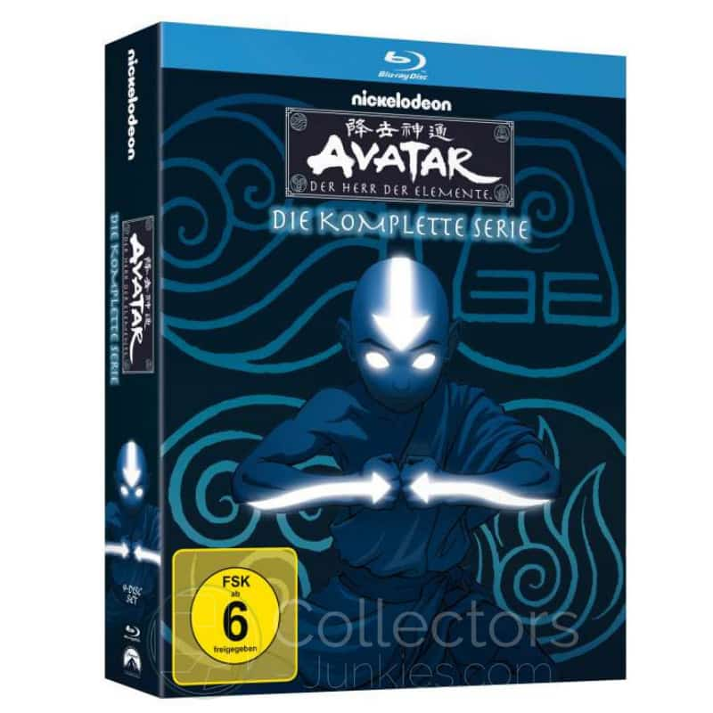 """""""Avatar – der Herr der Elemete"""" – Die komplette Serie ab Mai 2021 auf Blu-ray"""