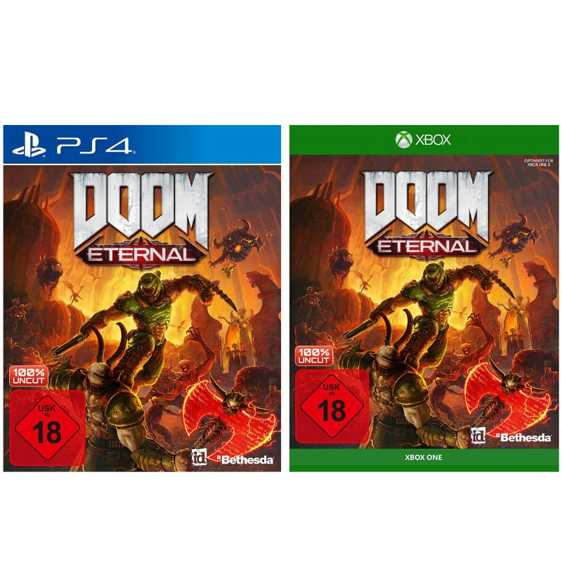 DOOM Eternal (Playstation 4 und Xbox One) für je 11,49€