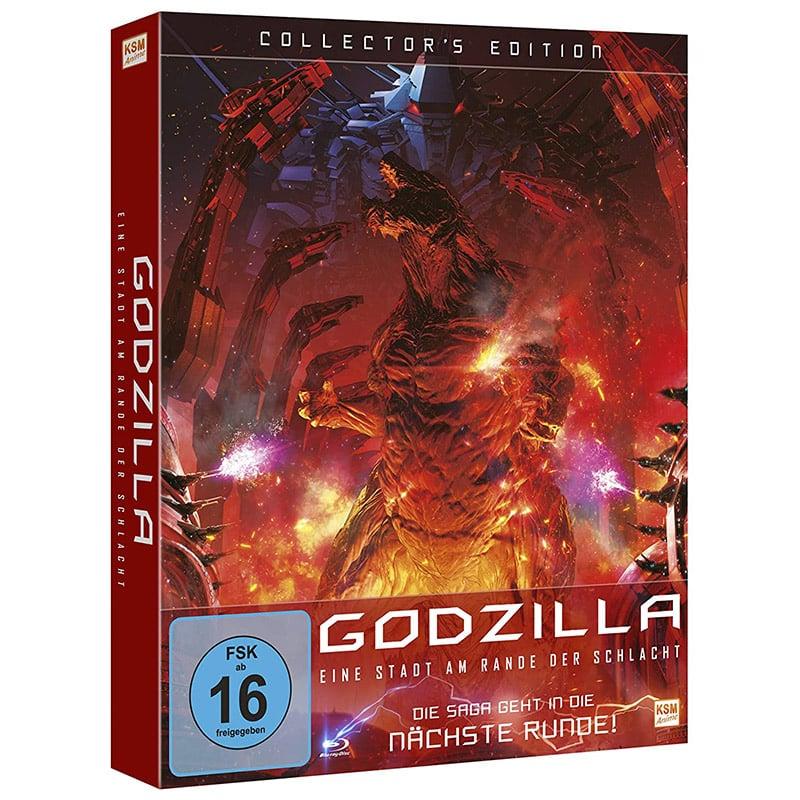 """""""Godzilla: Eine Stadt am Rande der Schlacht"""" ab Mai 2021 in einer Blu-ray Collectors Edition"""