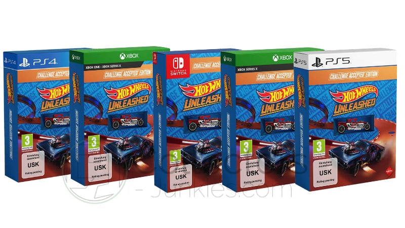 """Hot Wheels Unleashed"" ab September 2021 als Challenge Accepted Edition inkl. Steelbook und Day One Edition (Playstation 5/4, Xbox Series X/S/One, Nintendo Switch, PC)"