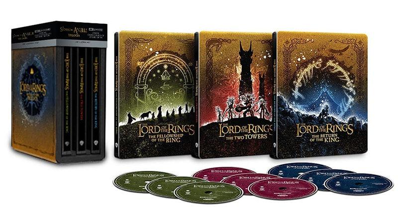 Der Herr der Ringe: Die Trilogie im 4K Steelbook Set für 94,58€ (Italien)