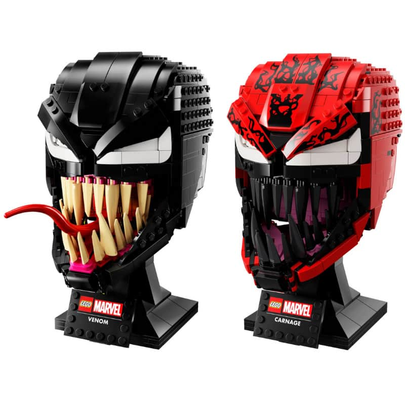 "Marvel Spider-Man ""Carnage"" und ""Venom"" (LEGO Helmet Collection)"