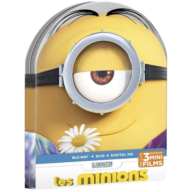 Minions – Steelbook Edition (Blu-ray) (Frankreich Import) für 7,15€