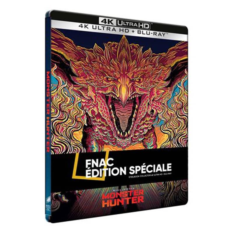 """""""Monster Hunter (2020)"""" ab Juli 2021 im 4K Steelbook (Frankreich/ England/ Spanien)"""