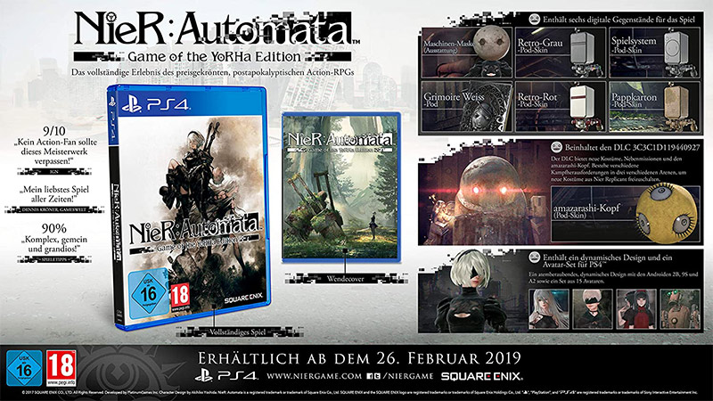 NieR: Automata Game of the YoRHa Edition (Playstation 4) für 16,99€