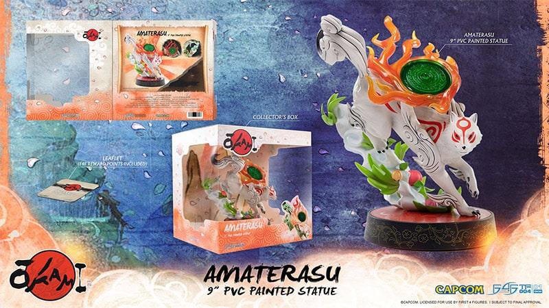 Okami: Amaterasu PVC Statue von First4Figures