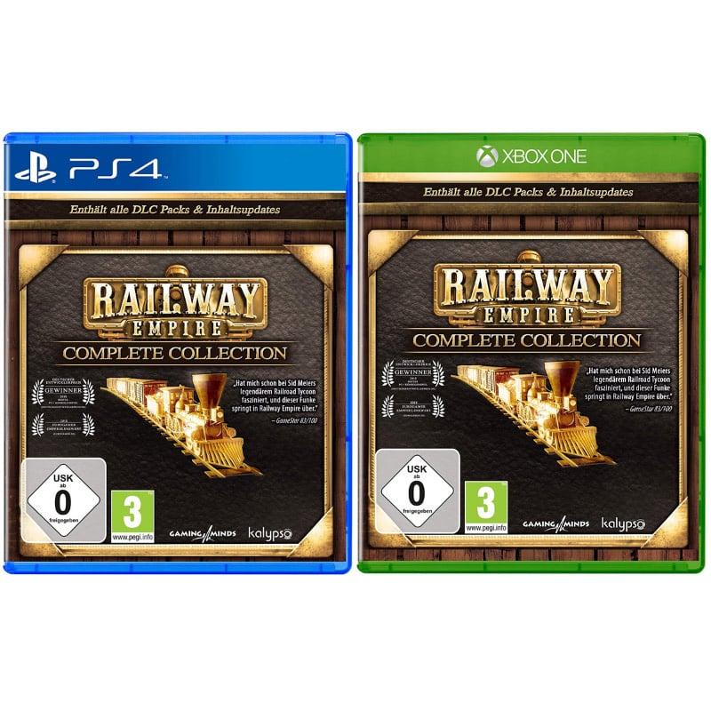 Railway Empire – Complete Collection (Playstation 4 und Xbox One) für je 19,99€
