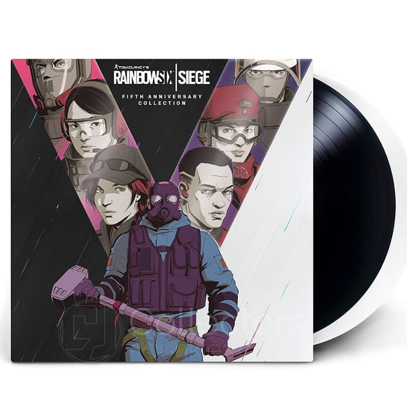 Rainbow Six Siege Soundtrack ab Mai 2021 in der Fifth Anniversary Collection auf Vinyl