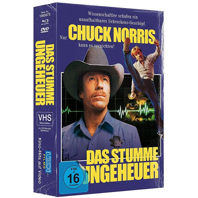 """""""Silent Rage"""" in der Blu-ray Retro-VHS-Edition für 16,84€"""