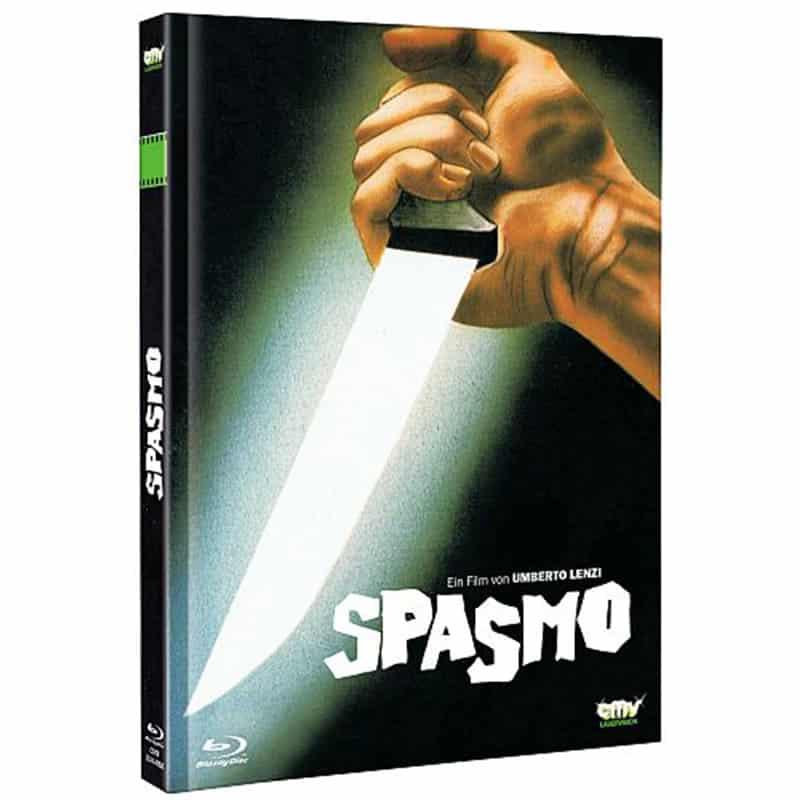 """""""Spasmo"""" ab November 2021 im Blu-ray Mediabook"""