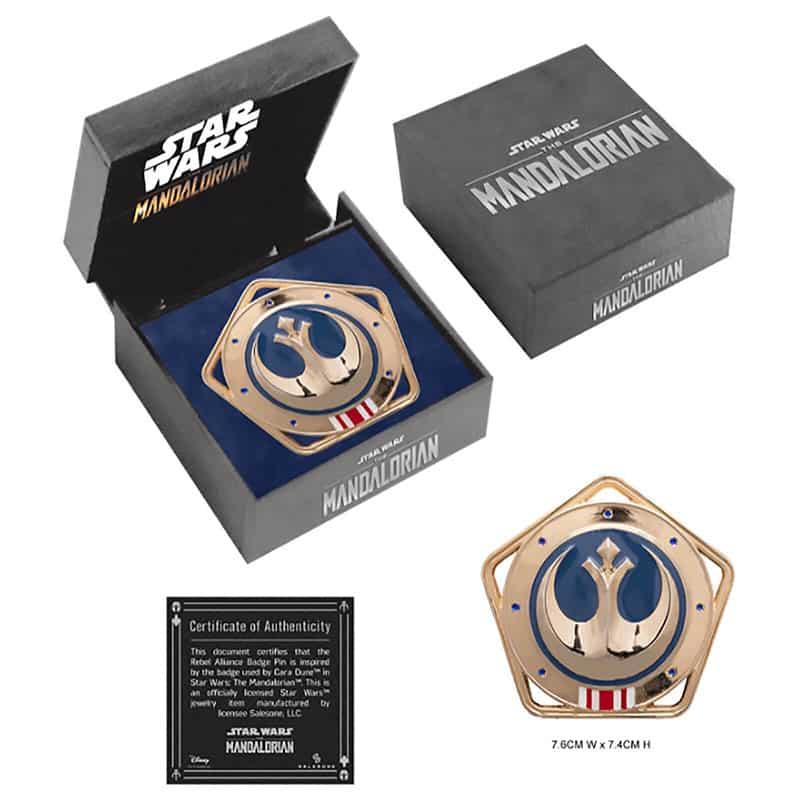 Star Wars Republic Medallion Pin Badge Replica (England) | ab August 2021
