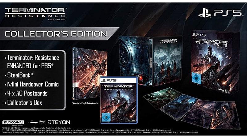 """""""Terminator: Resistance Enhanced"""" ab März 2021 in einer Collectors Edition für die Playstation 5"""