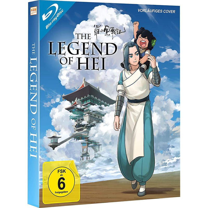 """""""The Legend of Hei"""" ab Mai 2021 in einer Blu-ray Collectors Edition"""