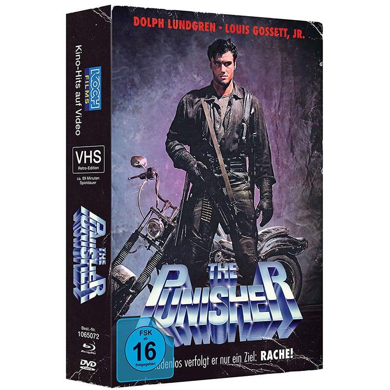 """""""The Punisher"""" in der Blu-ray Retro-VHS-Edition für 21,22€"""