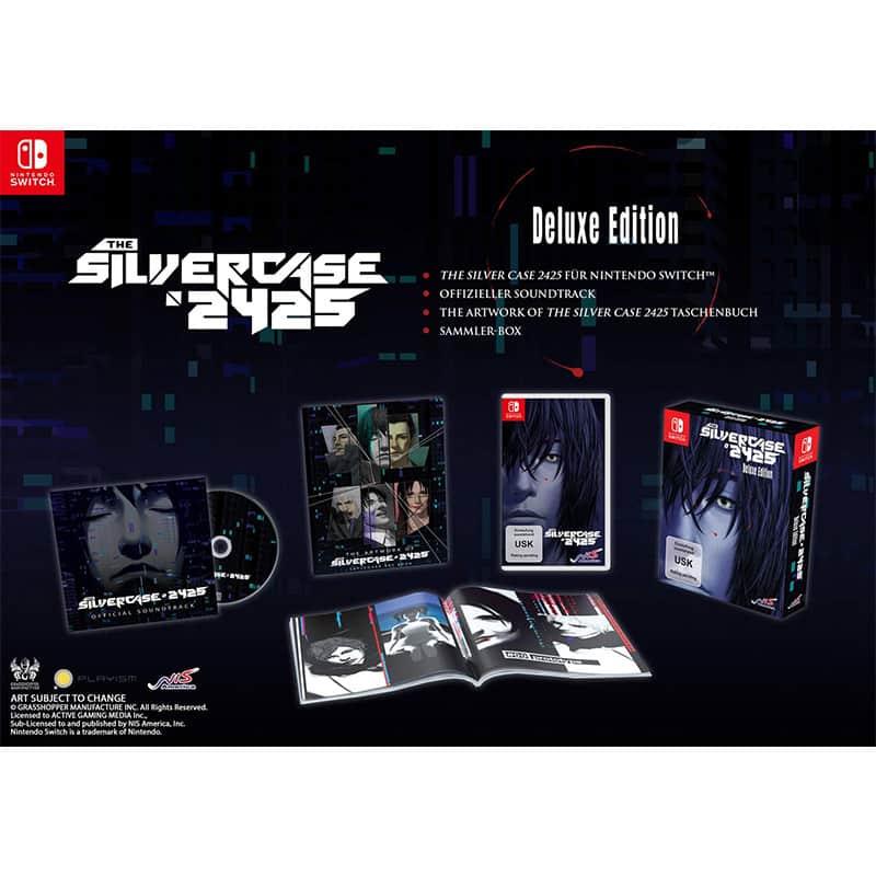 """""""The Silver Case 2425"""" ab Juli 2021 in der Deluxe Edition für die Nintendo Switch"""