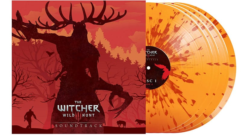 """The Witcher 3: Original Game Soundtrack"" im Zavvi exklusiven Vinyl Set 