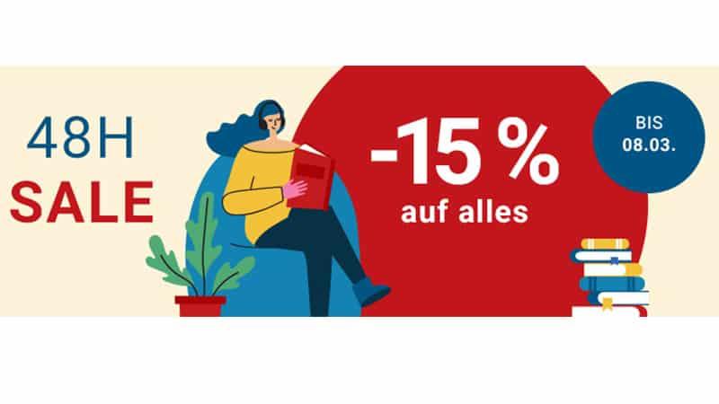15% Rabatt auf alles ab 20€ Bestellwert bei Medimops