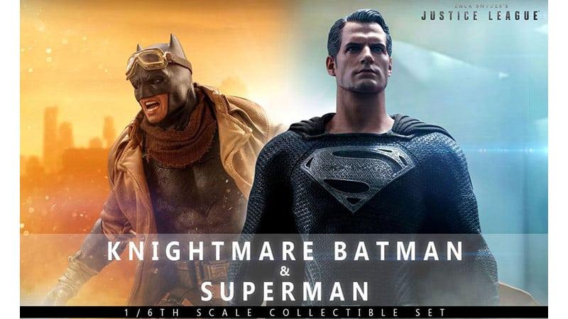 Zack Snyder's Justice League: Knightmare Batman & Superman 1/6 Actionfiguren Doppelpack von Hot Toys