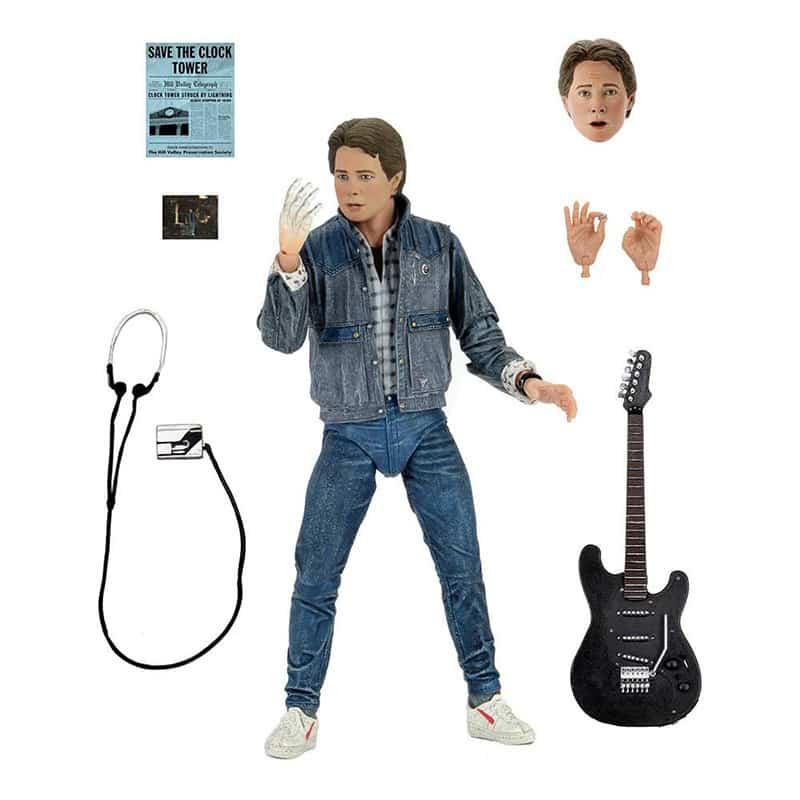 Zurück in die Zukunft: Marty McFly Ultimate Audition Actionfigur (Neca)