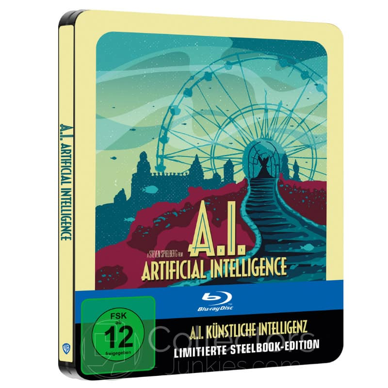 """A.I. – Künstliche Intelligenz"" ab Mai 2021 im Blu-ray Steelbook (Sci-fi Destination Series #4)"