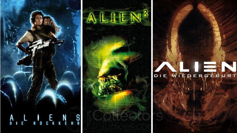 """""""Aliens, Alien 3 und Alien Resurrection"""" ab 2022 auf 4K UHD Blu-ray"""