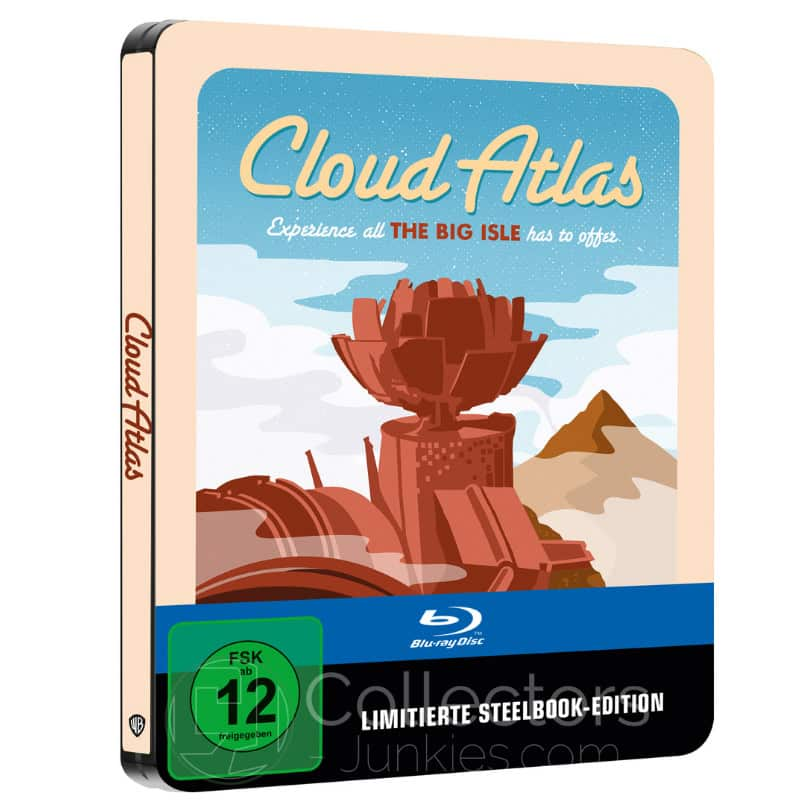 """Cloud Atlas"" ab Mai 2021 im Blu-ray Steelbook (Sci-fi Destination Series #?)"
