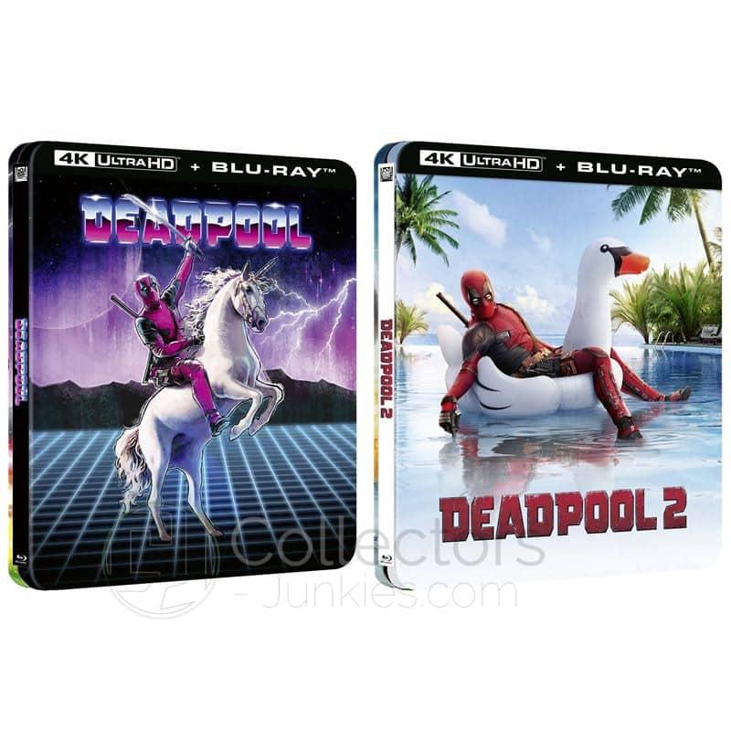 """Deadpool 1 & 2"" ab Juni 2021 jeweils im 4K Steelbook (Frankreich)"