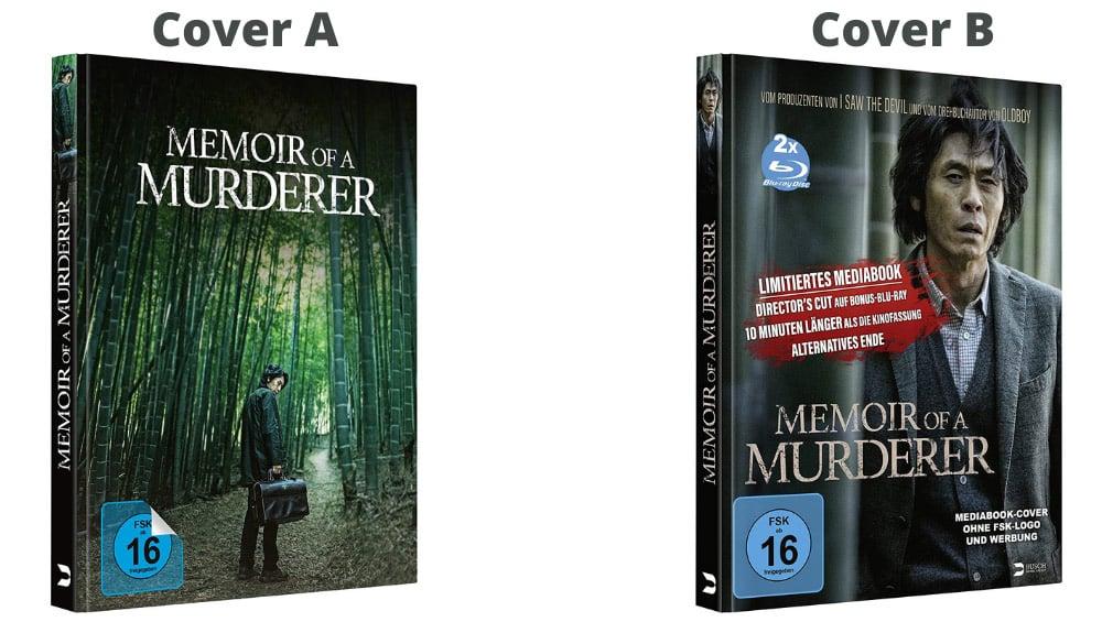 """Memoir of a Murderer"" ab November im weiteren Blu-ray Mediabook"